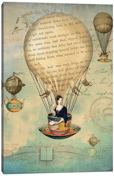 The Poet Canvas Art Print
