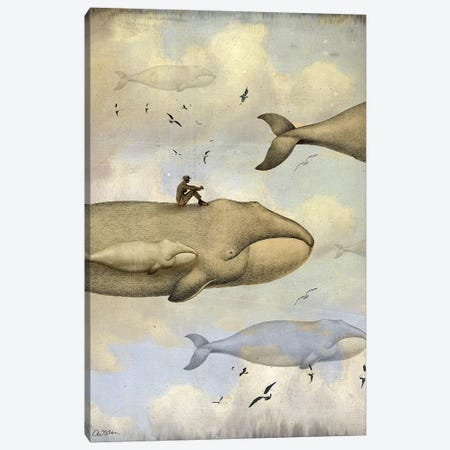 Contemplation Canvas Print #CWS136} by Catrin Welz-Stein Canvas Print