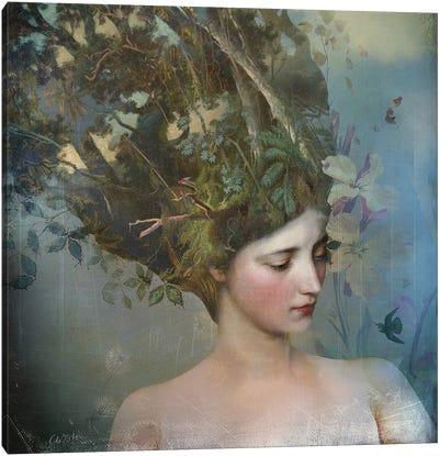 Portrait 17 Canvas Art Print