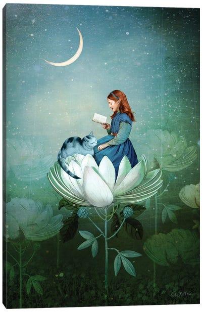Blue Stories Canvas Art Print