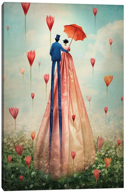 Good Morning Canvas Art Print