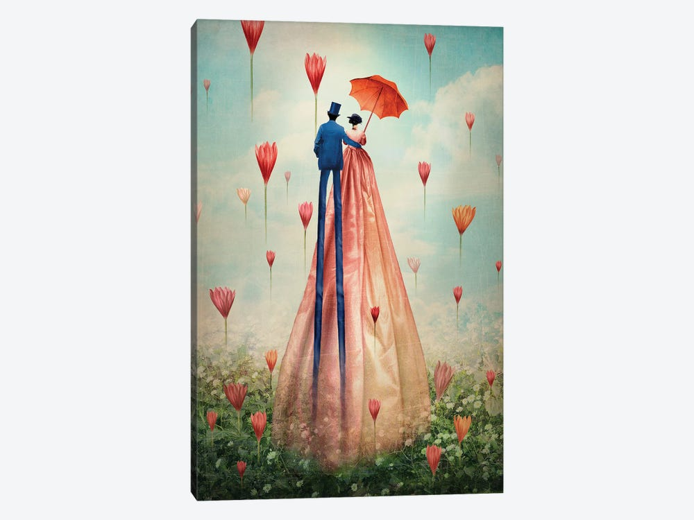 Good Morning by Catrin Welz-Stein 1-piece Canvas Print