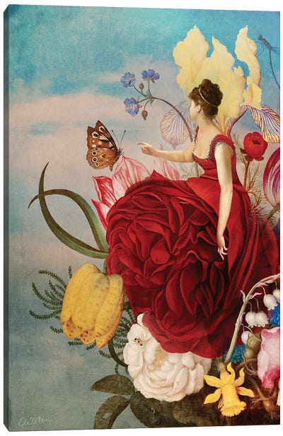 The Bouquet Canvas Art Print