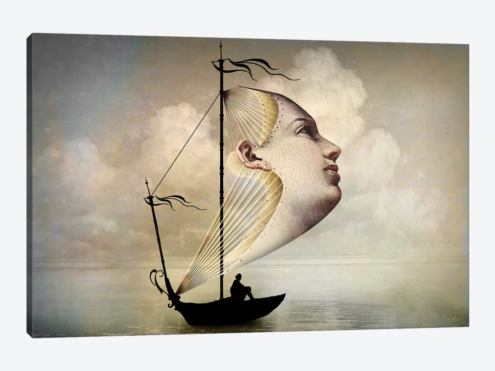 Homeward Bound by Catrin Welz-Stein 1-piece Canvas Art