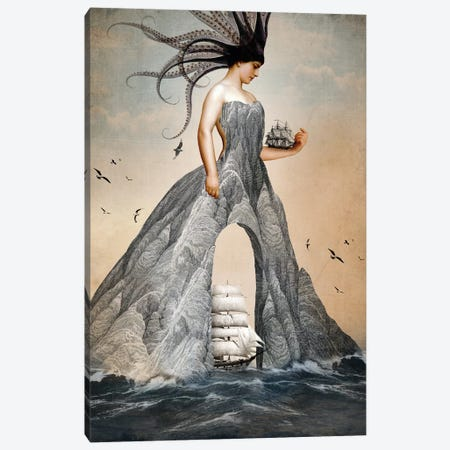 King Of Cups Canvas Print #CWS169} by Catrin Welz-Stein Canvas Print