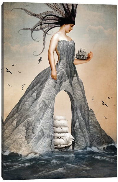 King Of Cups Canvas Art Print