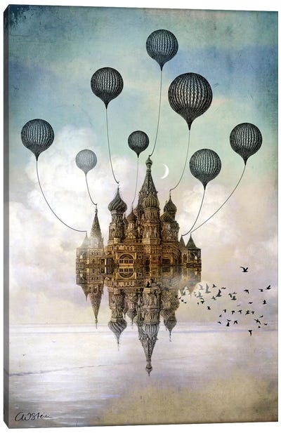 Journey To The East Canvas Art Print