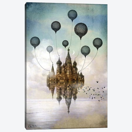 Journey To The East Canvas Print #CWS16} by Catrin Welz-Stein Canvas Art