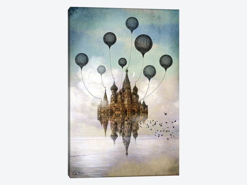 Journey To The East by Catrin Welz-Stein 1-piece Canvas Print