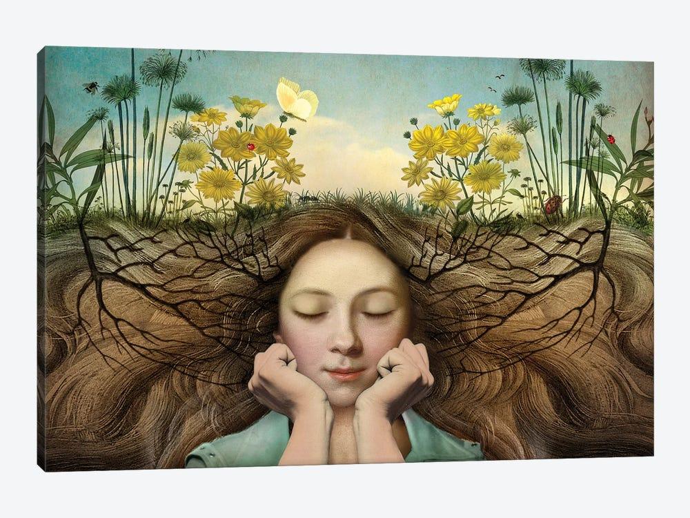 Listen by Catrin Welz-Stein 1-piece Canvas Art Print