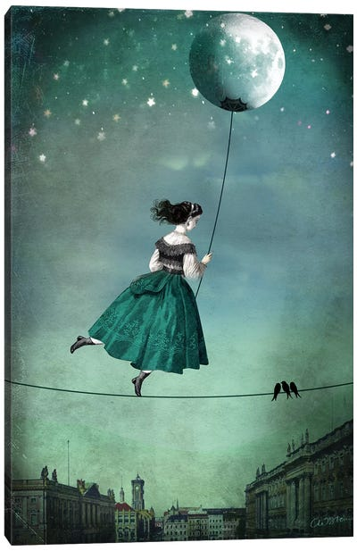 Moonwalk Canvas Art Print