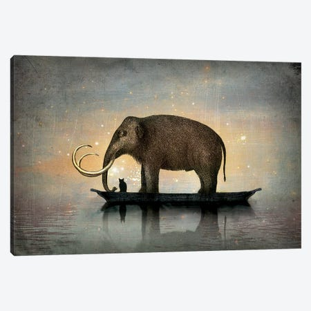 Silent Night Canvas Print #CWS22} by Catrin Welz-Stein Canvas Wall Art