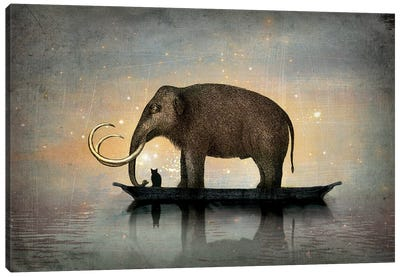 Silent Night Canvas Art Print