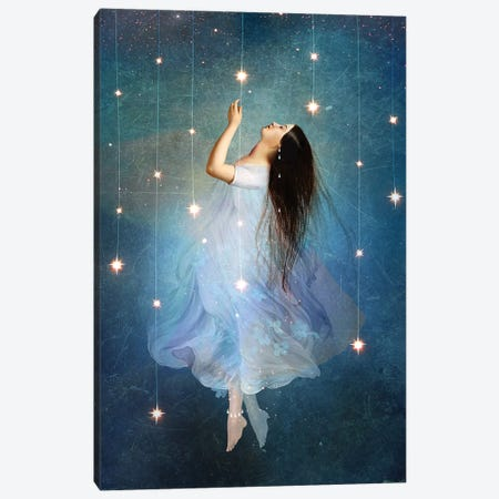 Star Sailor Canvas Print #CWS24} by Catrin Welz-Stein Canvas Print