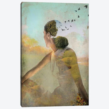 Summer Deaming Canvas Print #CWS25} by Catrin Welz-Stein Canvas Print