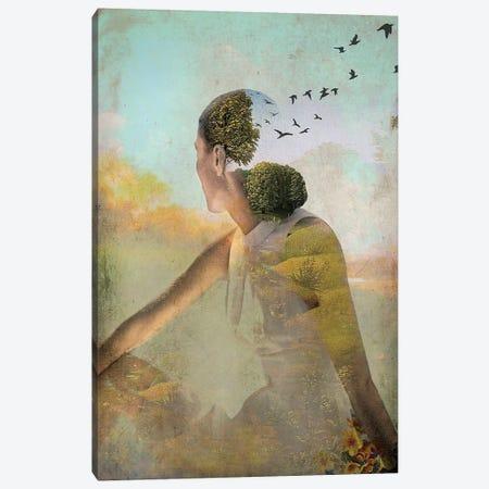 Summer Deaming Canvas Print #CWS25} by Catrin Welz-Stein Canvas Print