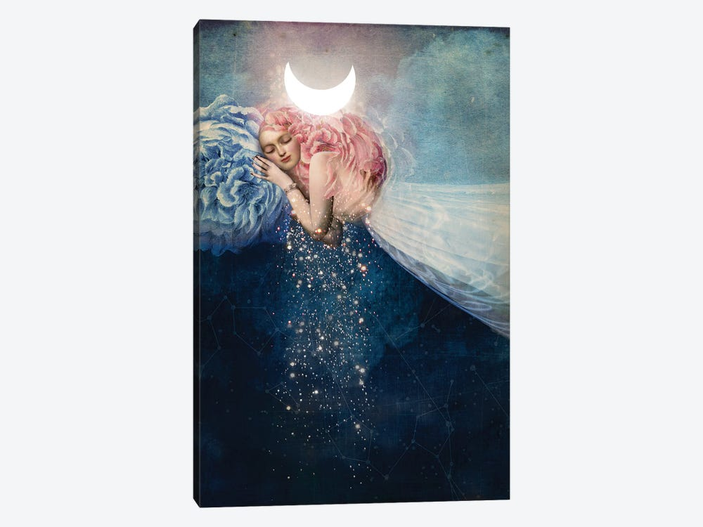 The Sleep by Catrin Welz-Stein 1-piece Canvas Artwork
