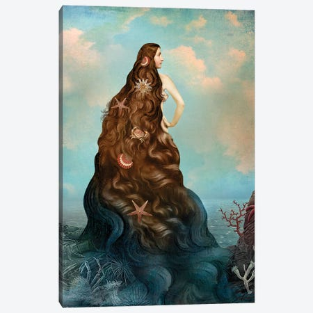 Virgin Island Water Canvas Print #CWS29} by Catrin Welz-Stein Canvas Art