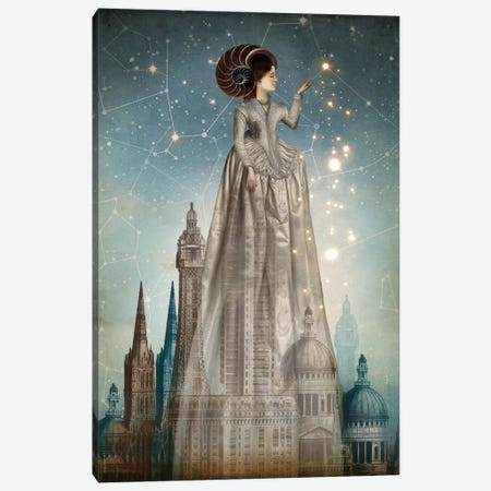 Abrakadabra Canvas Print #CWS2} by Catrin Welz-Stein Canvas Wall Art