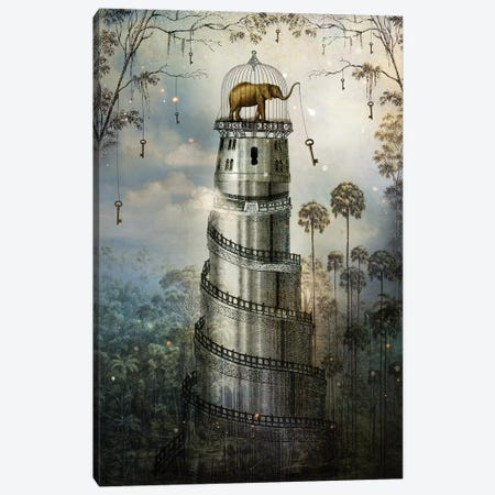 Where Keys Hang On Trees Canvas Print #CWS30} by Catrin Welz-Stein Canvas Art Print