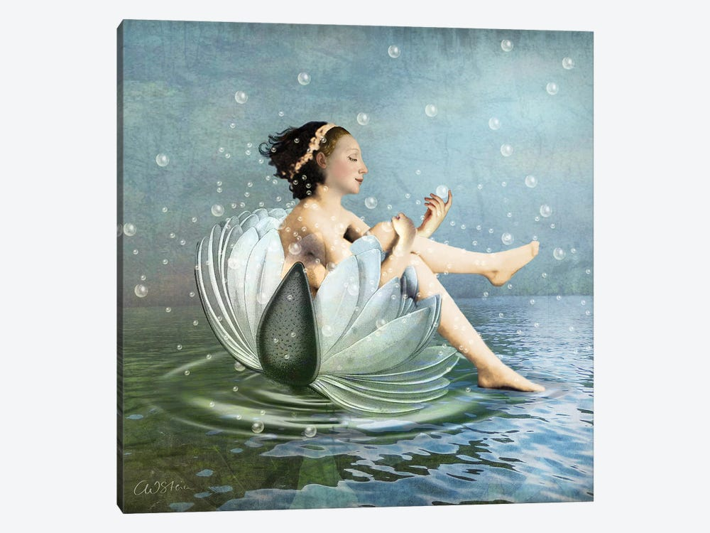 Bubbles by Catrin Welz-Stein 1-piece Canvas Art Print