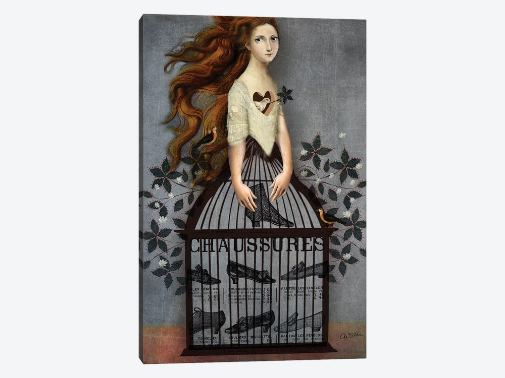 Cinderella by Catrin Welz-Stein 1-piece Canvas Art