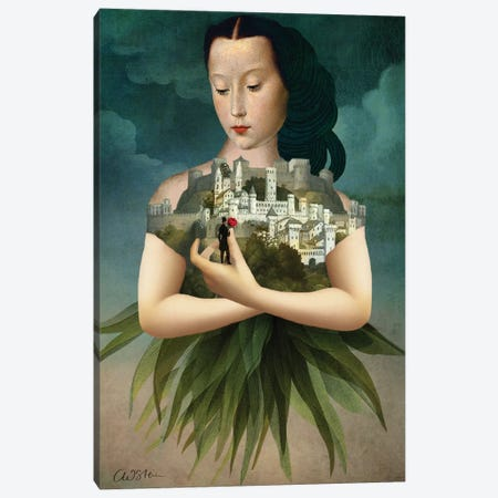 Der Rosenkavalier Canvas Print #CWS36} by Catrin Welz-Stein Canvas Wall Art