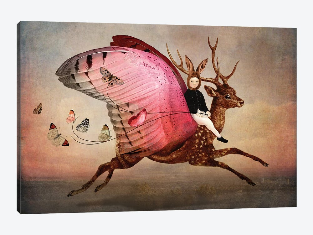 Enjoy The Ride by Catrin Welz-Stein 1-piece Canvas Wall Art
