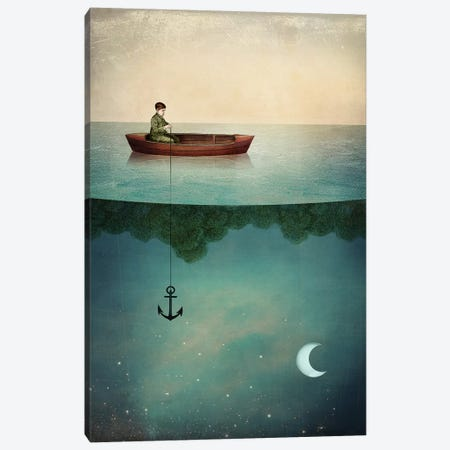 Entering Dreamland Canvas Print #CWS38} by Catrin Welz-Stein Art Print