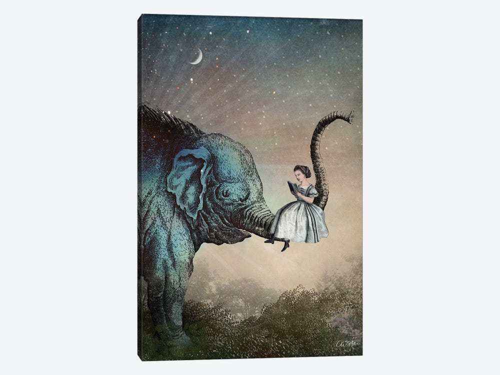 Good Night Story by Catrin Welz-Stein 1-piece Canvas Print