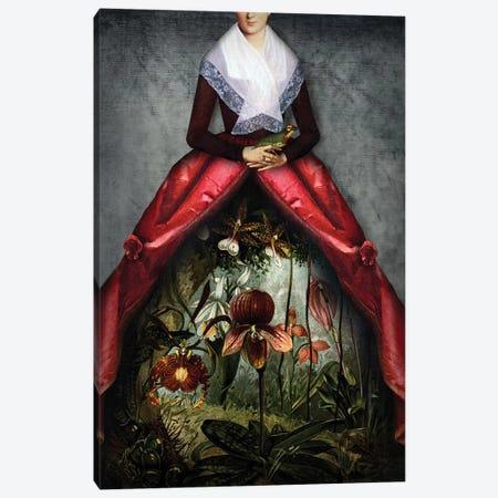 Her Garden Canvas Print #CWS43} by Catrin Welz-Stein Canvas Artwork