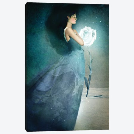 Ice Princess Canvas Print #CWS45} by Catrin Welz-Stein Canvas Art Print