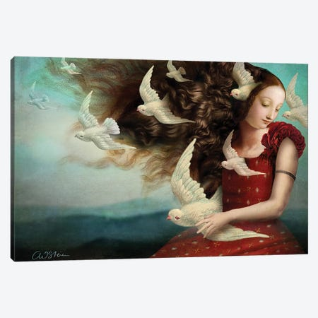 Memories II Canvas Print #CWS49} by Catrin Welz-Stein Canvas Artwork