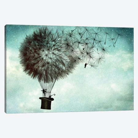 Businessmens' Goodbye Canvas Print #CWS4} by Catrin Welz-Stein Canvas Print