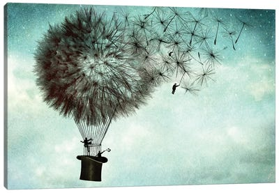 Businessmens' Goodbye Canvas Art Print