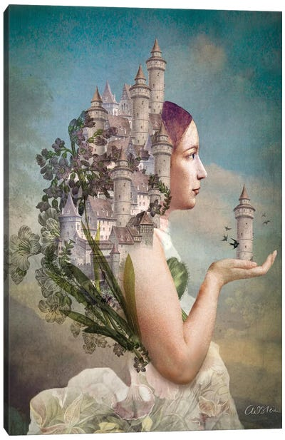 My Home Is My Castle Canvas Art Print