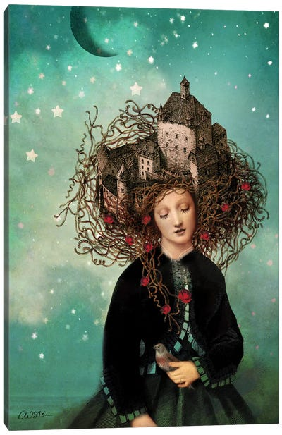 Sleeping Beauty Canvas Art Print