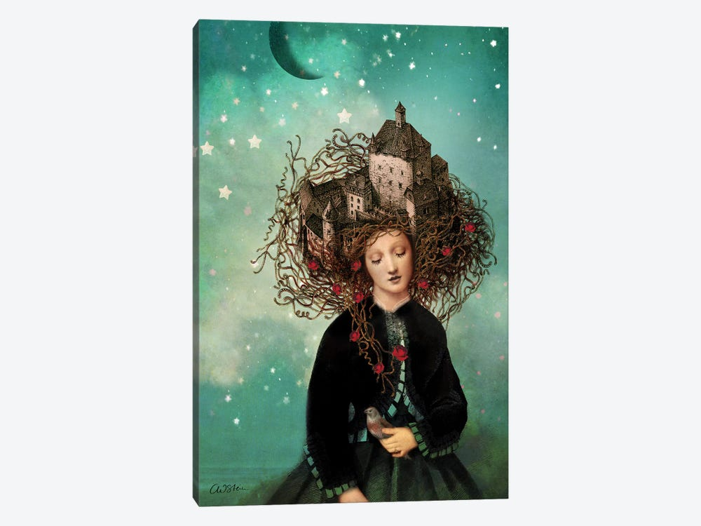 Sleeping Beauty by Catrin Welz-Stein 1-piece Art Print