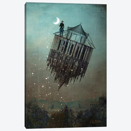 The Sandman Canvas Print #CWS62} by Catrin Welz-Stein Canvas Art