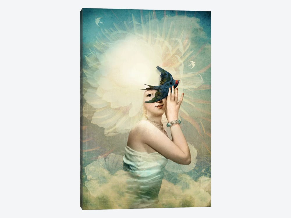 The Sun by Catrin Welz-Stein 1-piece Canvas Art Print
