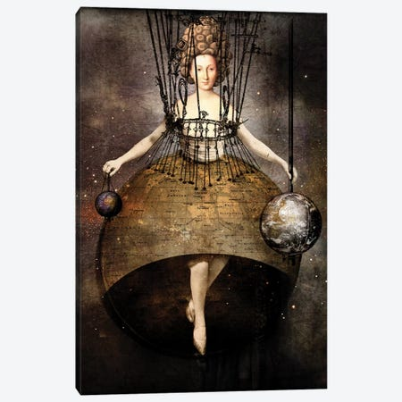 The World Canvas Print #CWS64} by Catrin Welz-Stein Canvas Art Print