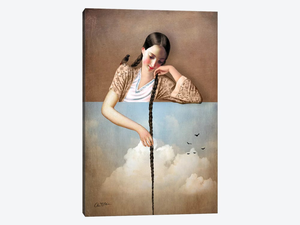 Touch The Sky by Catrin Welz-Stein 1-piece Canvas Art Print