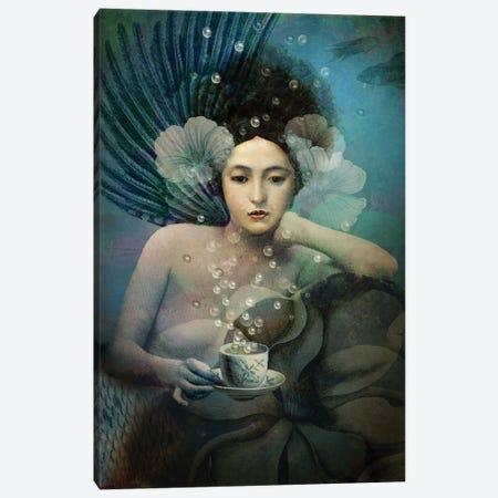 Under The Sea Canvas Print #CWS66} by Catrin Welz-Stein Canvas Art Print