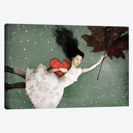 Back To Earth I Canvas Print #CWS67} by Catrin Welz-Stein Canvas Art Print