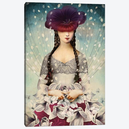 Binding Flowers Canvas Print #CWS69} by Catrin Welz-Stein Canvas Art