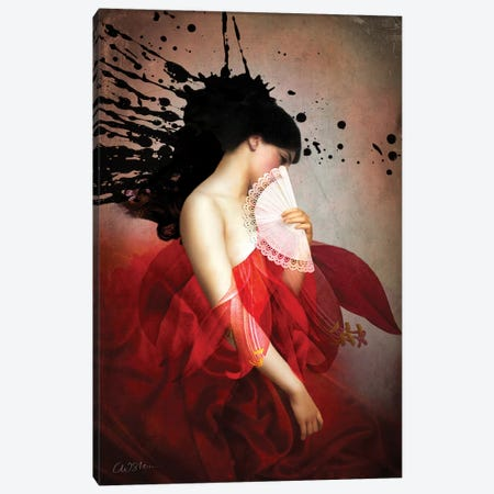 Carmen Canvas Print #CWS6} by Catrin Welz-Stein Canvas Print