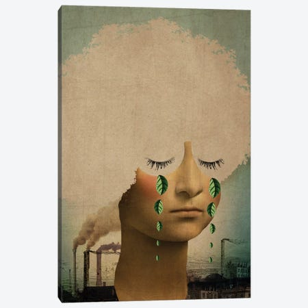 Climate Change Canvas Print #CWS71} by Catrin Welz-Stein Canvas Print