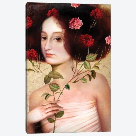 Der Blumenstrauss Canvas Print #CWS73} by Catrin Welz-Stein Canvas Print