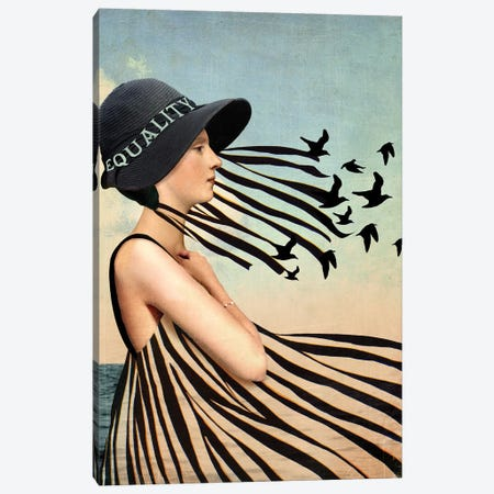 Equality Canvas Print #CWS74} by Catrin Welz-Stein Canvas Wall Art