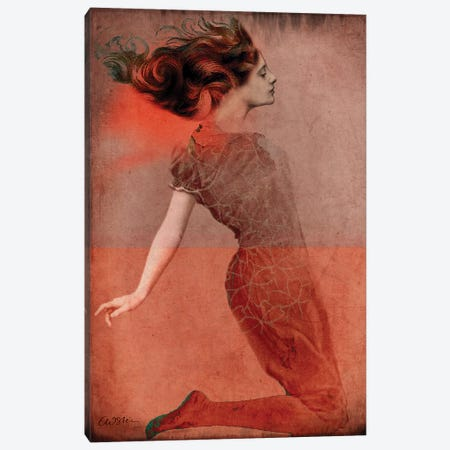 Love Is Canvas Print #CWS78} by Catrin Welz-Stein Art Print
